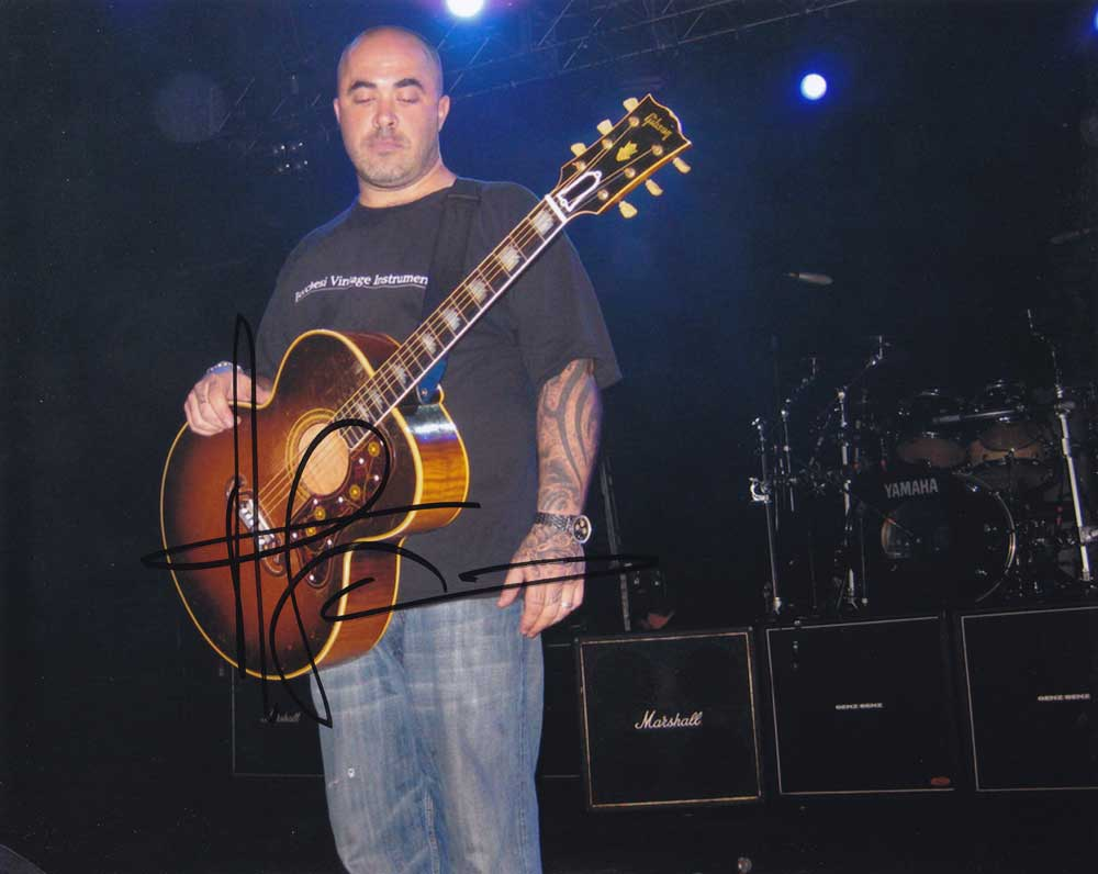 Aaron Lewis In-person Autographed Photo