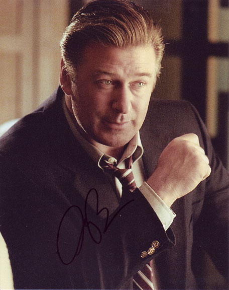 Alec Baldwin autographed photo for sale