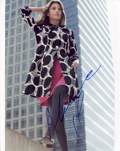 Alessandra Ambrosio autographed photo for sale