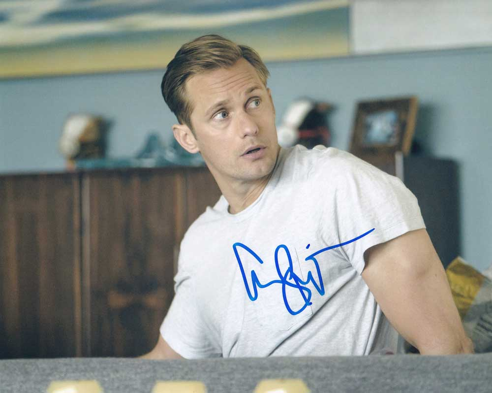 Alexander Skarsgard in-person autographed photo