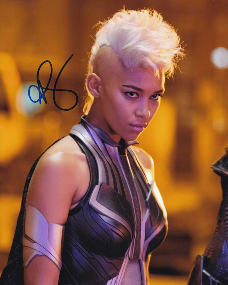 Alexandra Shipp in-person autographed photo