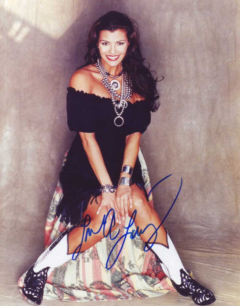 Ali Landry in-person autographed photo