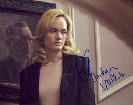 Amber Valletta autographed photo for sale