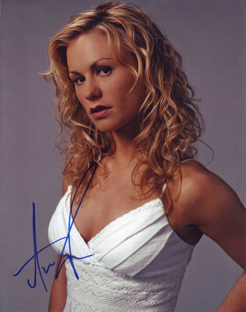 Anna Paquin in-person autographed photo