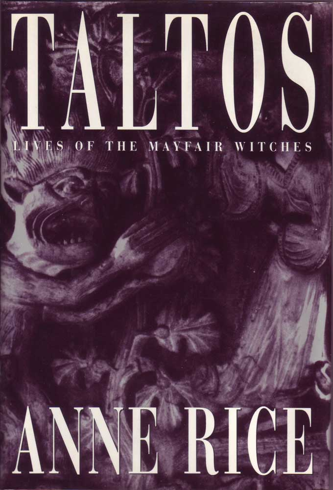 Anne Rice in-person autographed Book Taltos
