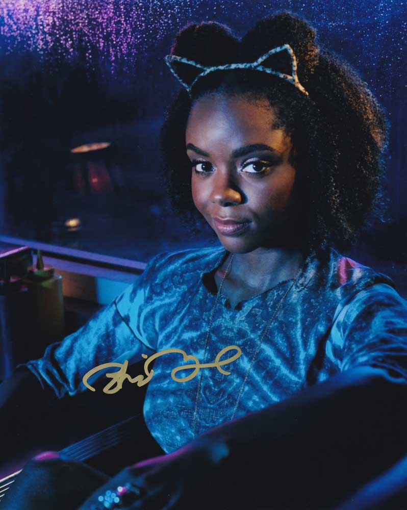 Ashleigh Murray In-person Autographed Photo