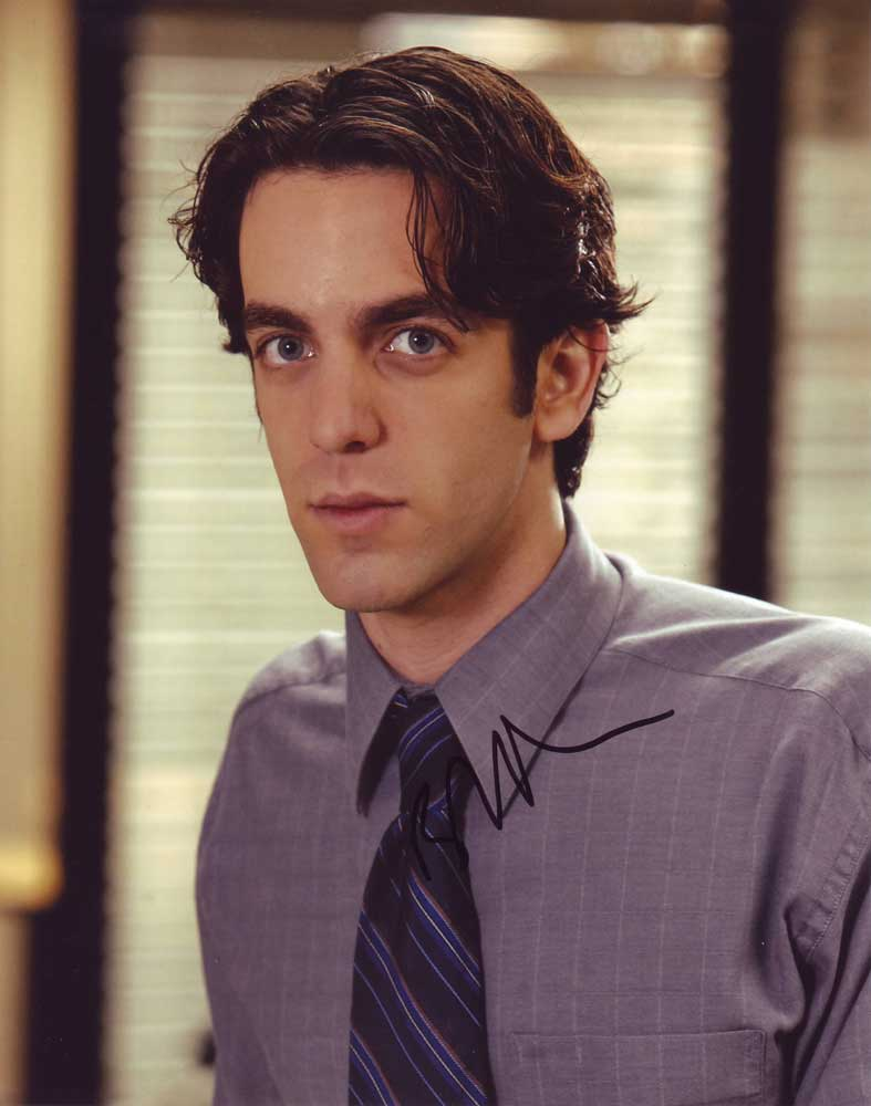 B.J. Novak in-person autographed photo
