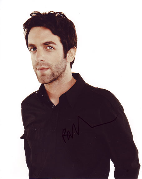B.J. Novak in-person autographed photo for sale
