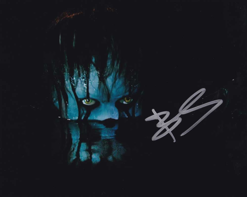 Bill Skarsgard in-person autographed photo