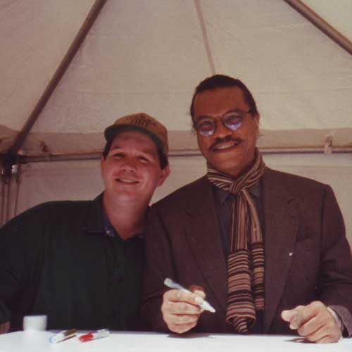 Billy Dee Williams in-person autographed photo