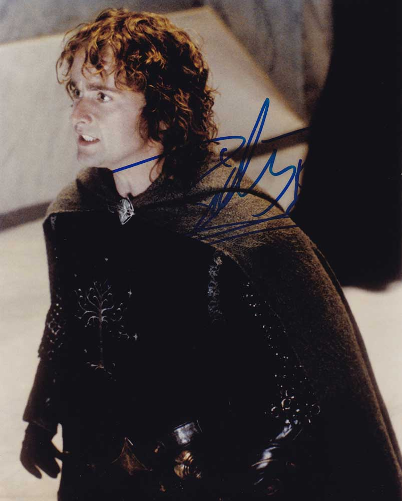 Billy Boyd in-person autographed photo