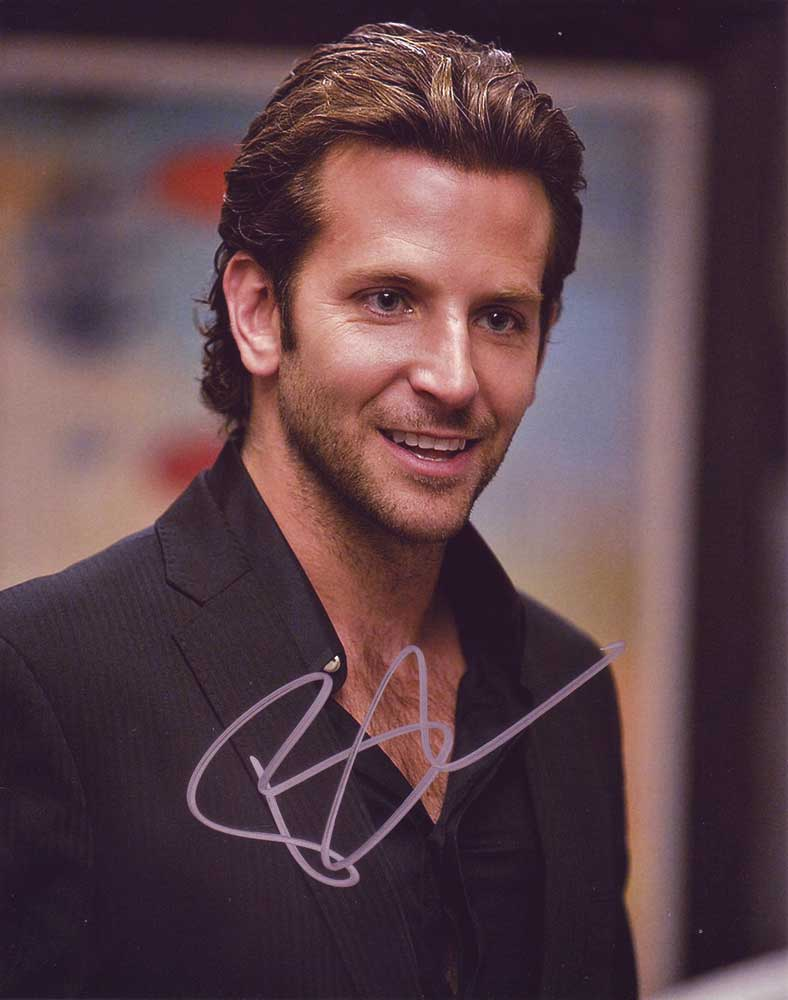 Bradley Cooper in-person autographed photo
