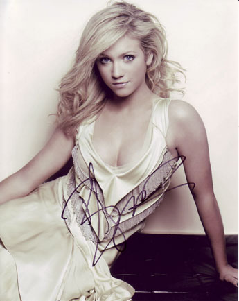 Brittany Snow autographed photo for sale