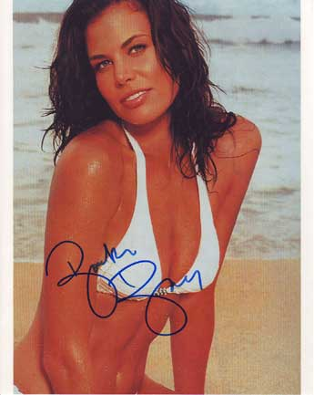 Brooke Burns Autographed photo for sale