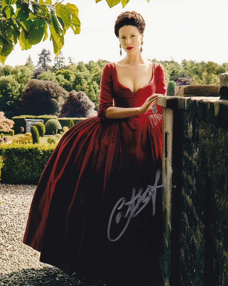 Caitriona Balfe in-person autographed photo