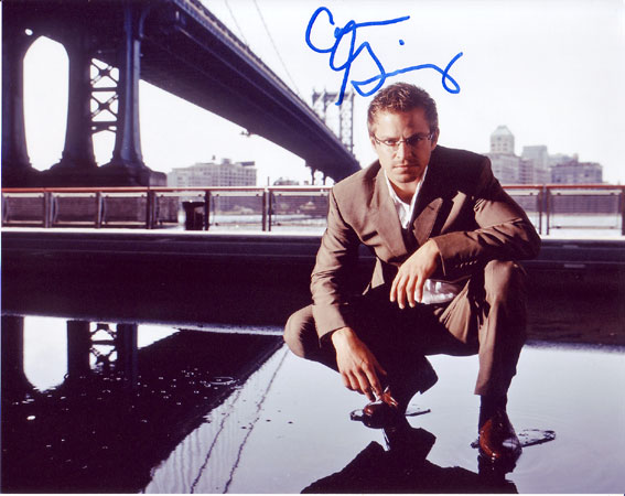 Carmine Giovinazzo autographed photo for sale