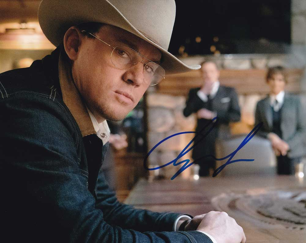 Channing Tatum in-person autographed photo