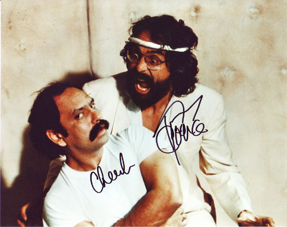 Cheech and Chong autographed photo for sale