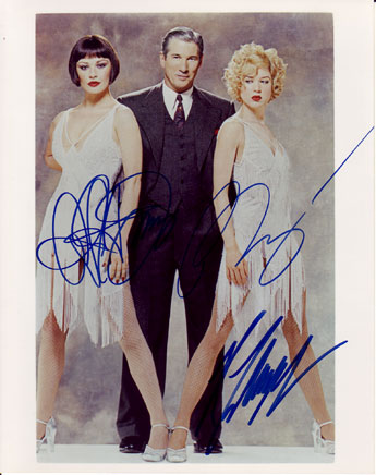 Chicago autographed cast photo for sale