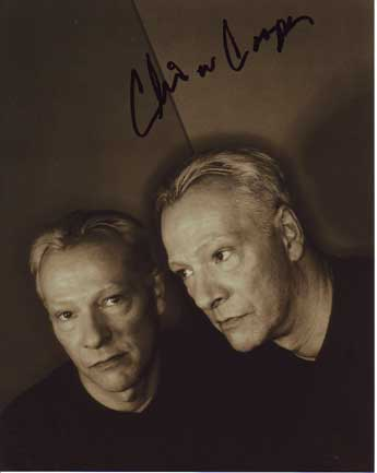 Chris Cooper in-person autograp...