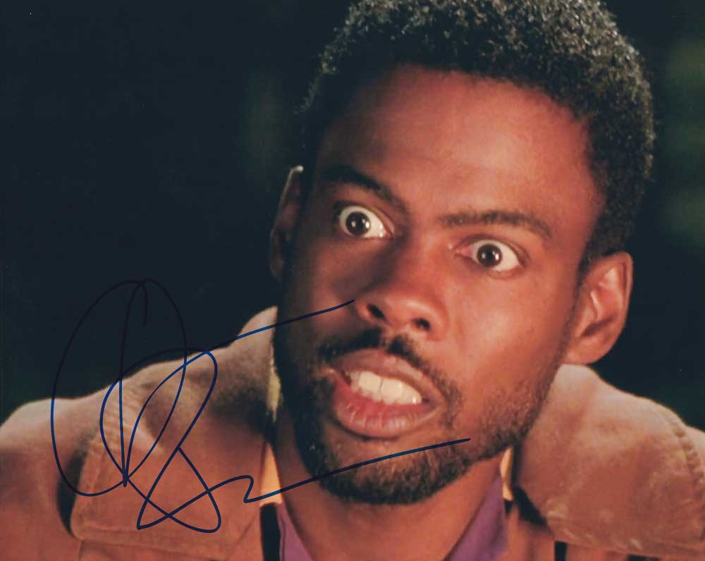 Chris Rock in-person autographed Photo