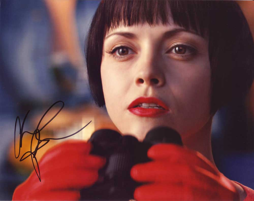 Christina Ricci In-person autographed photo
