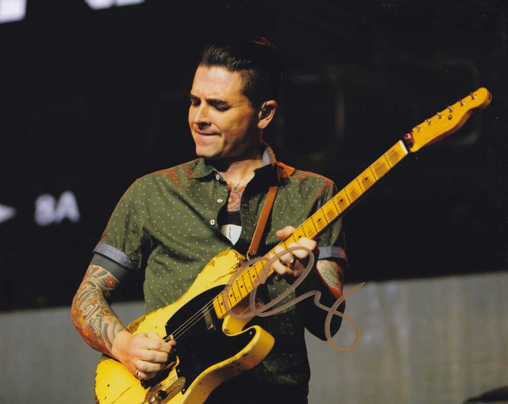 Chris Carrabba In-person Autographed Photo