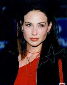 Claire Forlani autographed photo for sale