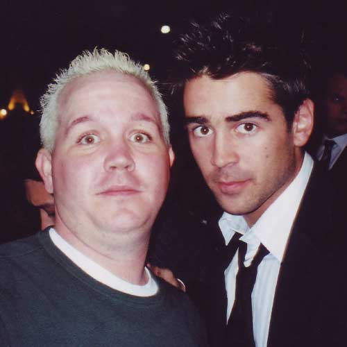 Colin Farrell in-person autographed photo