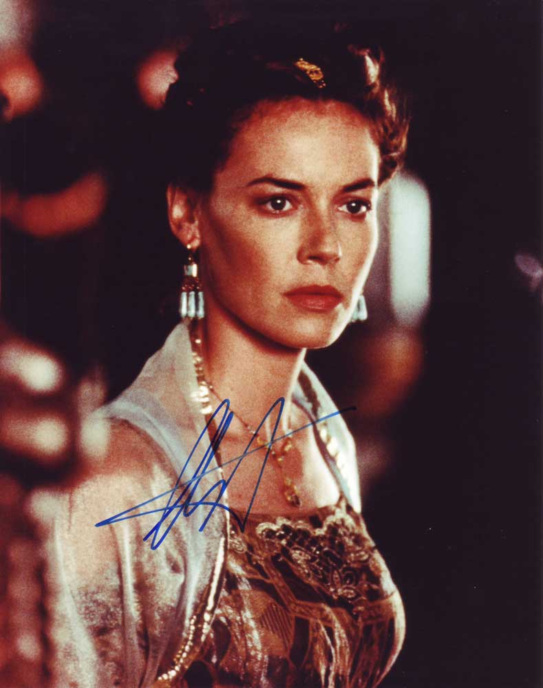 Connie Nielsen in-person autographed photo
