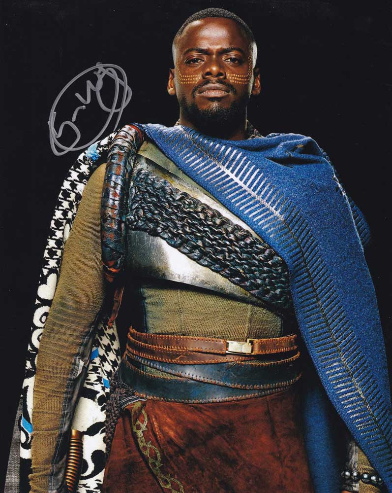 Daniel Kaluuya in-person autographed photo