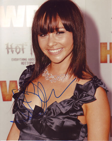 Danielle Harris autographed photo for sale