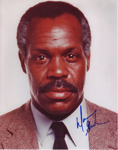 Danny Glover autographed photo for sale