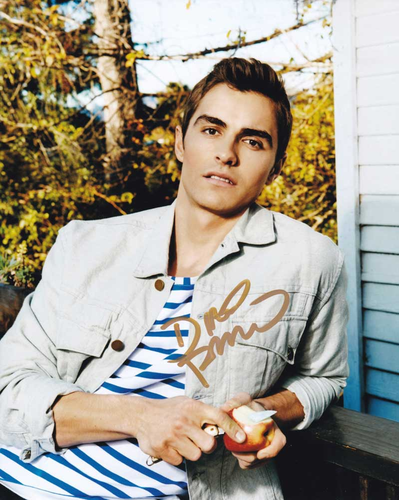 Dave Franco in-person autographed photo