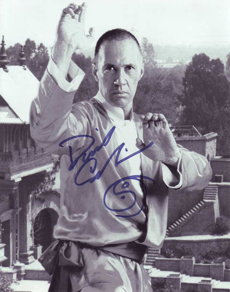 David Carradine in-person autographed photo