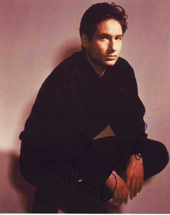 David Duchovny Autographed Photo for sale