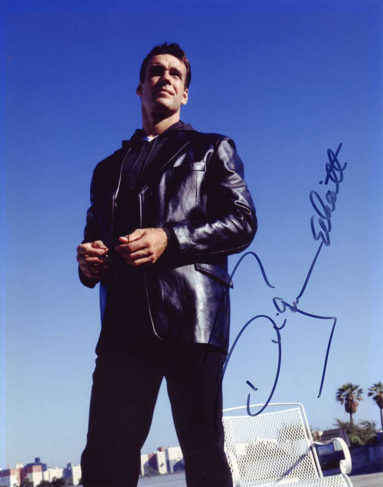David James Elliott in-person autographed photo