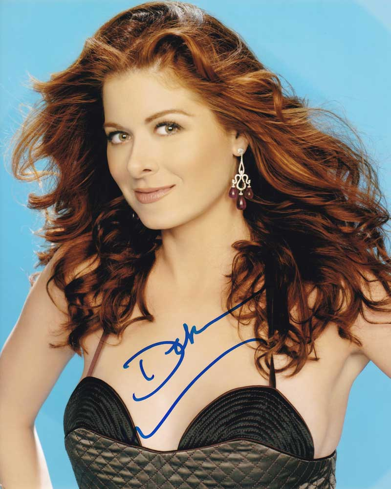 Debra Messing In-person Autographed Photo