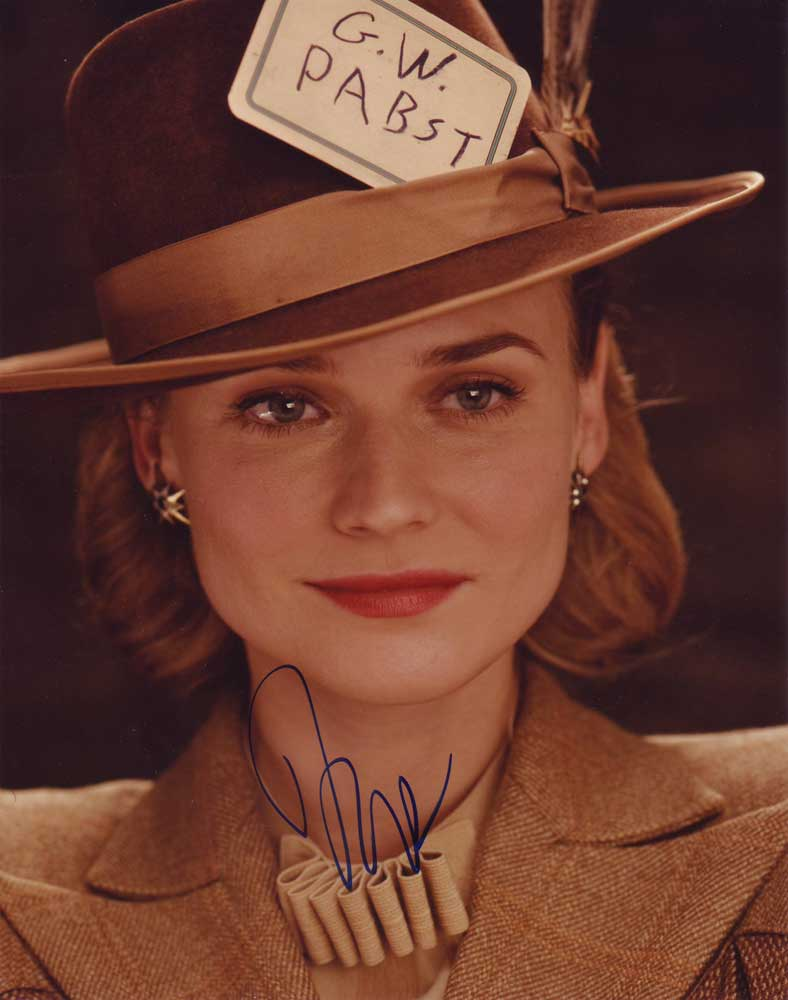 Diane Kruger in-person autographed photo