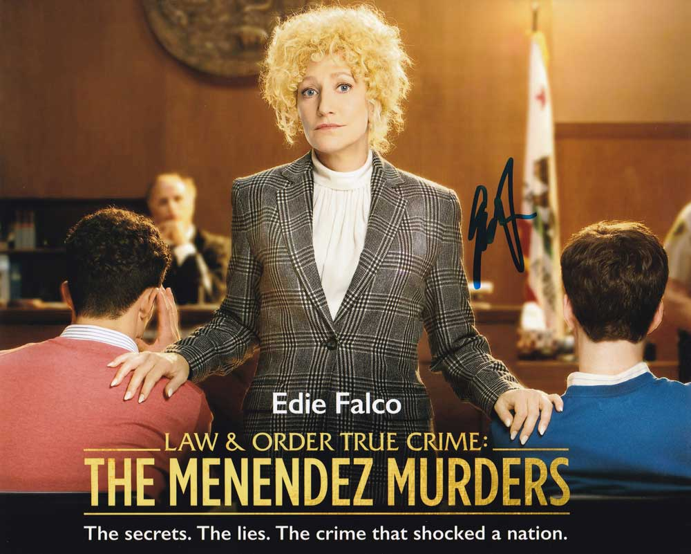 Edie Falco In-person Autographed Photo
