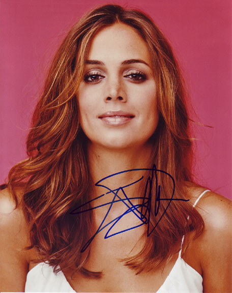Eliza Dushku autographed photo for sale