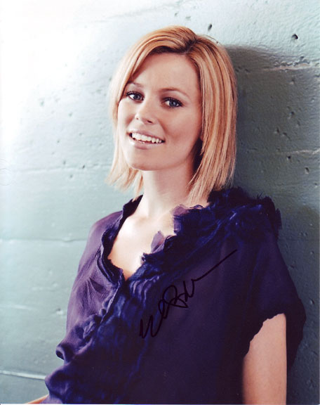 Elizabeth Banks autographed photo for sale