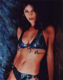 Elizabeth Hurley autographed photo for sale