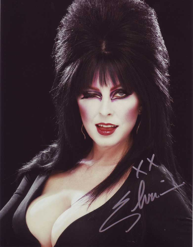 Elvira In-Person Autographed Photo