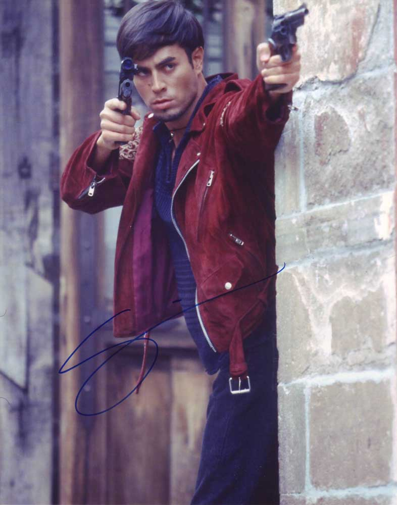 Enrique Iglesias in-person autographed photo