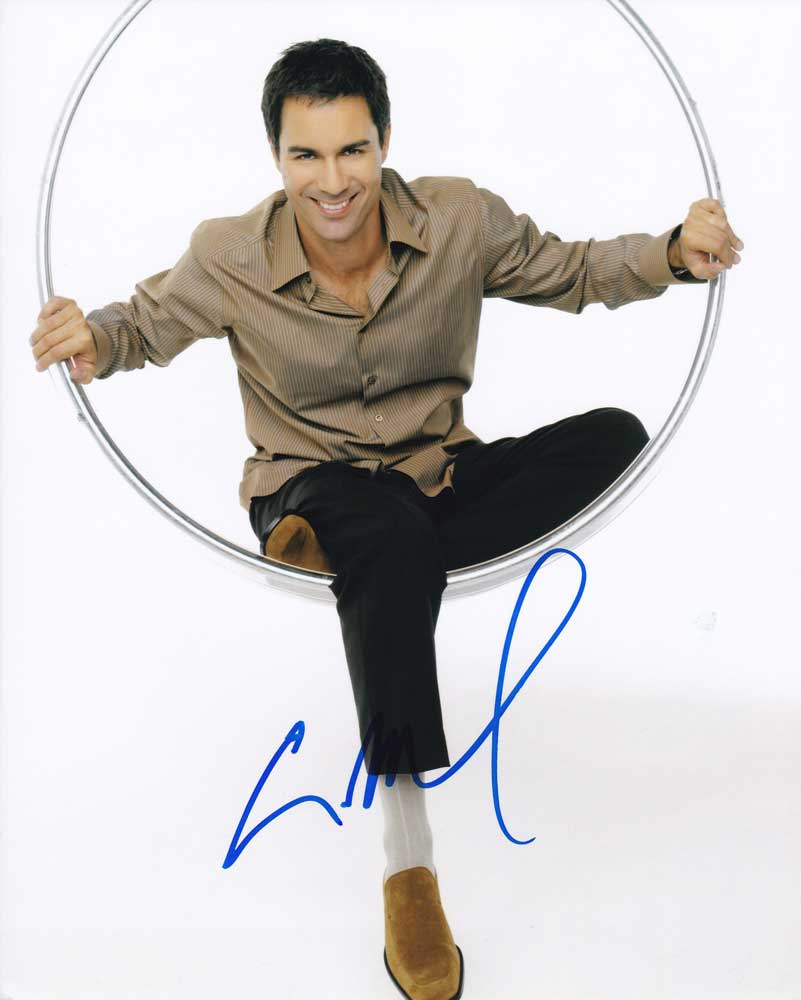 Eric McCormack in-person autographed photo