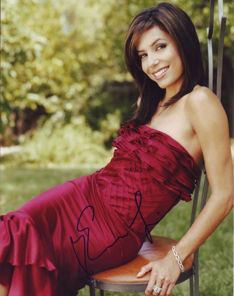 Eva Longoria in-person autographed photo