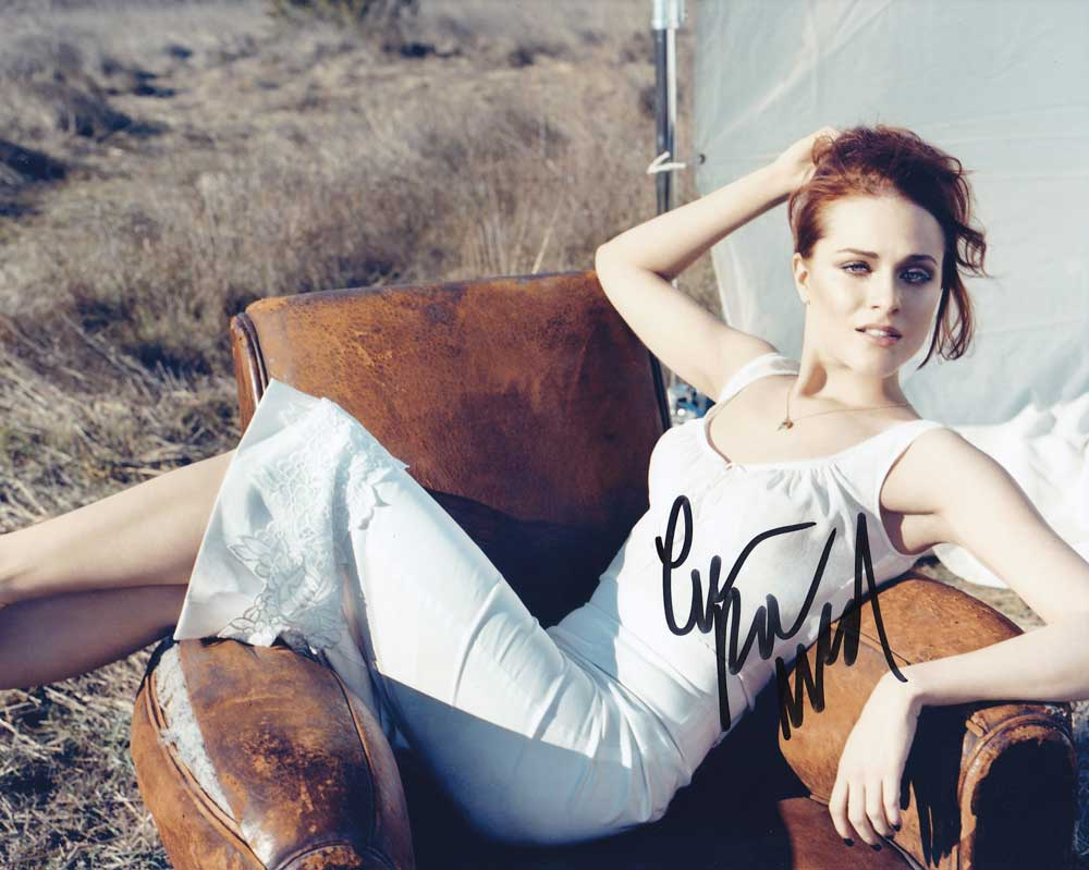 Evan Rachel Wood in-person autographed photo