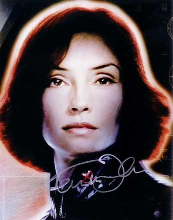 Famke Janssen autographed photo for sale