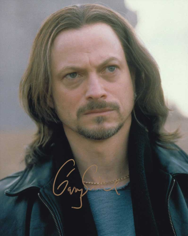 Gary Sinise in-person autographed photo